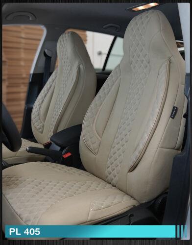 Maß Sitzbezüge Mercedes C-Klasse W205//S205 Fahrer /& Beifahrer PL405