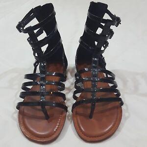 8875e1dce8db Image is loading Gianni-Bini-Women-039-s-Gladiator-Sandals-size-
