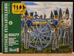 Revell-Vintage-1-72-02577-Britische-Fuss-Artillerie-Nap-Wars-mint-2004