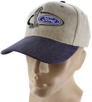 Ford Mustang Snake Blue Baseball Cap Trucker Hat Snapback 5.0 Liter Gt Shelby