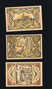 3x-Notgeld-Sparkasse-TWISTRINGEN-b-Diepholz-Serie-25-50-75-Pf-top-1921