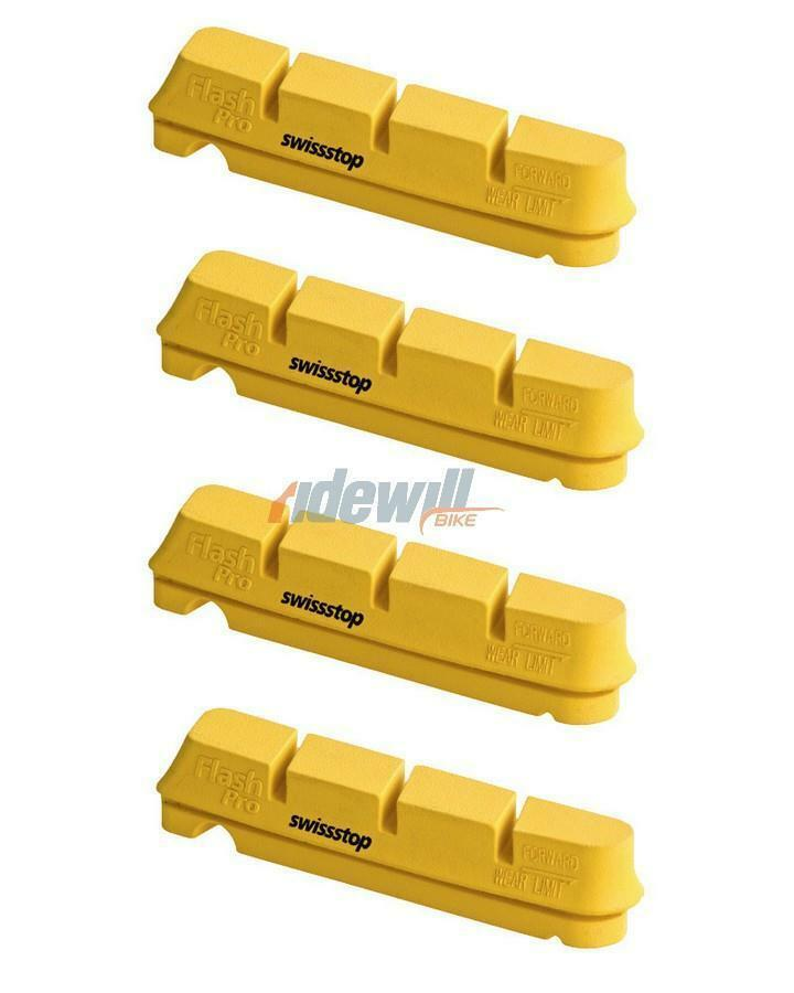 2 pairs brake pads for carbon wheels shimano sram compatible SwissStop bicycle
