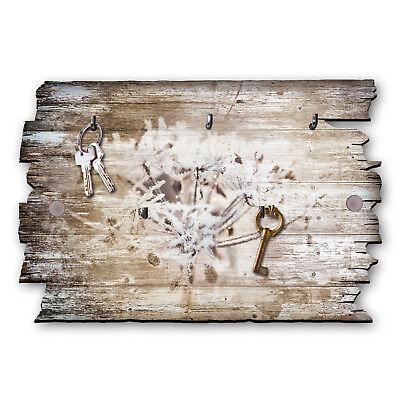 Relax Schlüsselbrett Hakenleiste Landhaus Shabby chic aus Holz 30x20cm