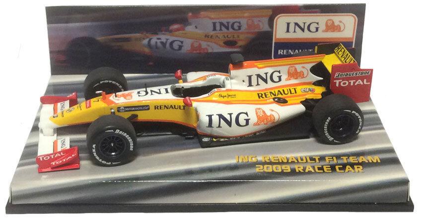 ventas en linea Minichamps ING Renault F1 Team 2009 Race Coche  7 7 7 - Fernando Alonso 1 43 Escala  servicio honesto