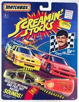 rare 1991 DAVEY ALLISON Matchbox SCREAMIN' STOCK #28 Race Car MIB NASCAR