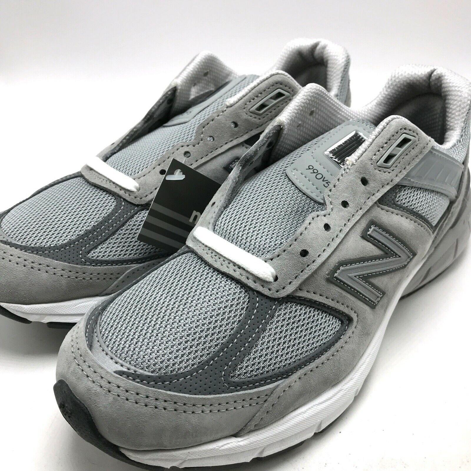 Para Hombre Zapato De Correr New Balance gris Hecho en EE. UU. M990GL5