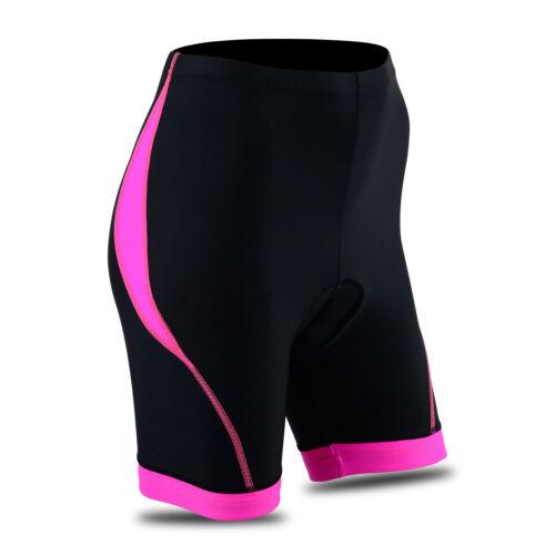 Femmes Cyclisme Collants Short Rembourré Femmes Leggings Cool Max Anti bac Pad
