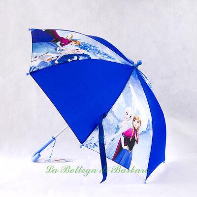 Leale Ombrello Frozen Con Anna Ed Elsa,disney Frozen,ombrellino Bambina Essere Altamente Elogiati E Apprezzati Dal Pubblico Che Consuma