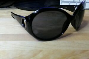 44b4e530e1 Image is loading Jones-New-York-women-sunglasses-black-Circular-100-