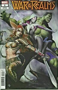 War-Of-The-Realms-Comic-Issue-1-Limited-Granov-Variant-Modern-Age-First-Print