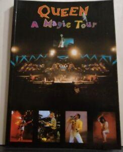 NO-CD-QUEEN-LIBRO-FOTOGRAFICO-A-MAGIC-TOUR-NUOVO-48-PAGINE-COLORI-1987