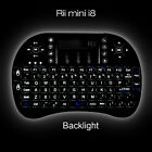 Hot sale Rii Mini i8 Wireless Keyboard 2.4G with Touchpad for PC Android TV Box