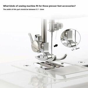 15 Various Types Multifunction Sewing Machine Presser Walking Feet Foot Kit Set