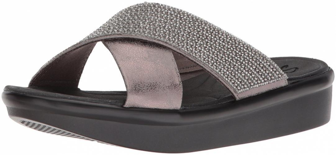Skechers Femme bumblers-Summer Scorcher Diapositive Sandale