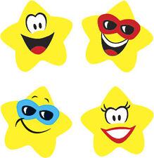 800 Star Brights supershapes teacher reward school stickers