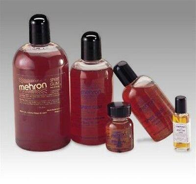 MEHRON SPIRIT GUM ADHESIVE SPECIAL EFFECT GLUE ADHESIVE MAKE UP 0.125OZ SMALL