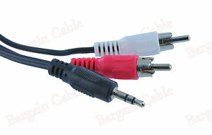 6ft-Aux-Audio-3-5mm-Stereo-Male-to-2-RCA-Y-CABLE-FOR-IPOD-MP3-Buy-2-Get-1-Free