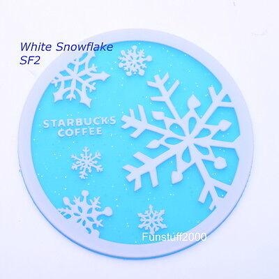 Xmas Winter Snow Mermaid Coasters for Japan Starbucks Coffee Cup
