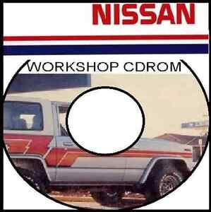 nissan patrol mq 160 series l28 sd33 workshop service repair manual rh ebay com au Nissan Manual Book Nissan Factory Service Manual