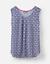 Joules-Alyse-tejido-de-Superdry-en-azul-marino-Geo-Talla-10-y-14 miniatura 1