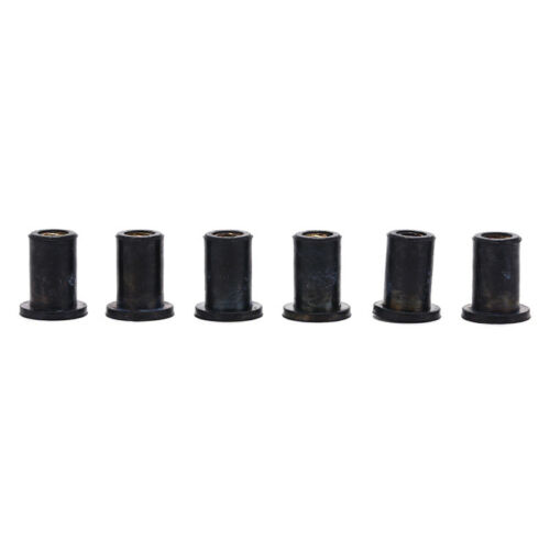 6pcs m4 rubber well nuts kayak accessories blind fastener rivet fishing boat Pip