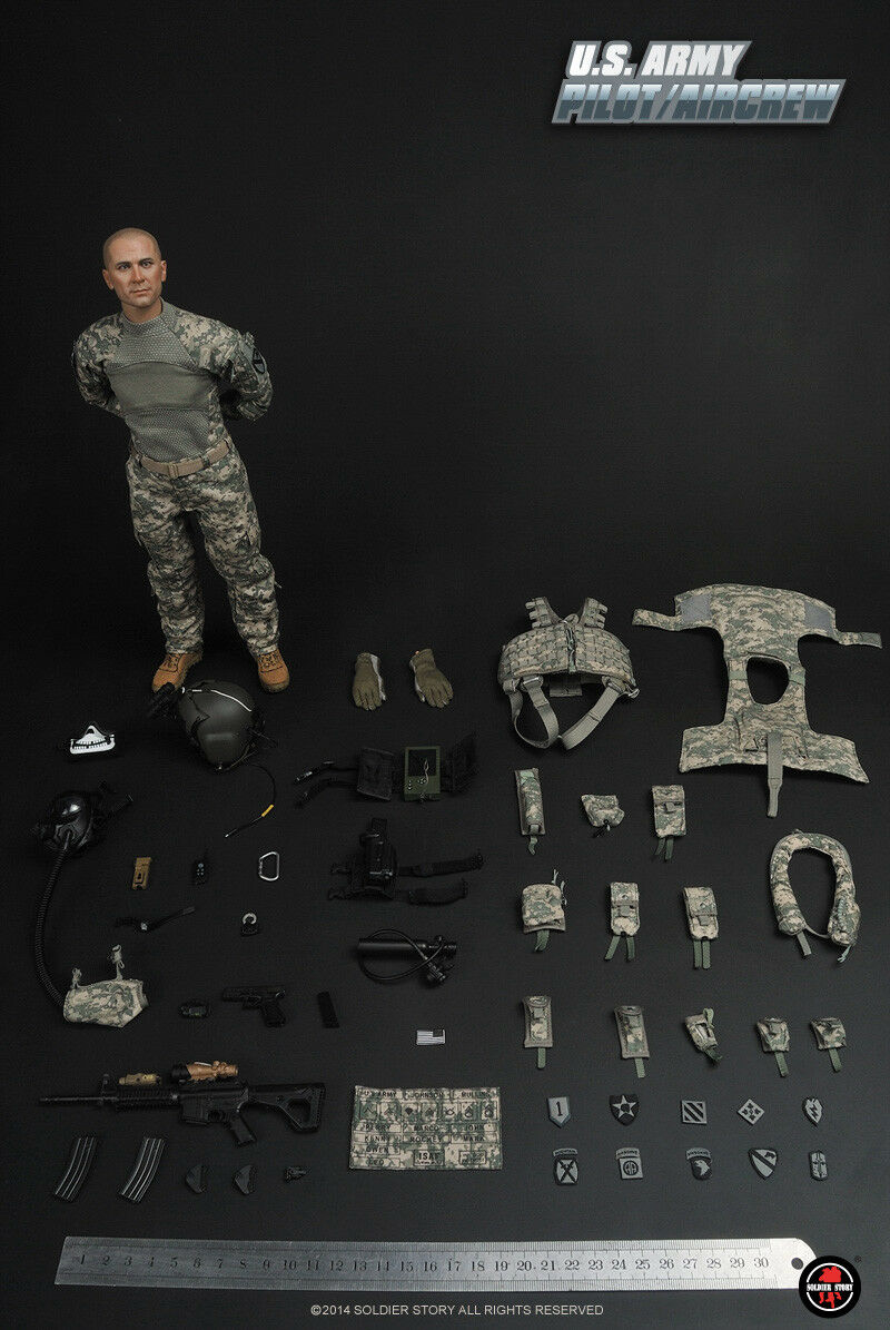 SoldierStory SS087 1/6 Scale U.S.ARMY ACU PILOT/AIRCREW Figure Model