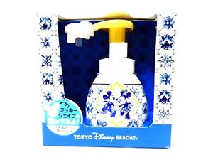 Tokyo Disney Resort Limited Mickey /& Minnie shape hand soap Brand New From Japan