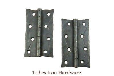 "2 Decor 6/"" Flat Corner Plates Wrought Iron Door Frame Brace Bracket DIY Hardware"