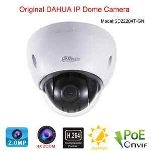 Details about Dahua SD22204T-GN IP camera 2 Megapixel Full HD Network Mini  PTZ Dome Camera