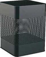 DURABLE 3321-01 Metall-Papierkorb eckig 18,5 Liter schwarz