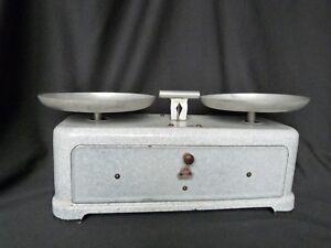 balance de m nage vintage marque torix ann es 50 t le maill e avec ses poids ebay. Black Bedroom Furniture Sets. Home Design Ideas