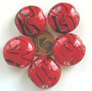 pcs givré Art Hobby À faire soi-même Fabrication De Bijoux Rouge Foncé Verre Perles Rondes 4 mm 195