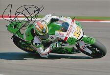 Alvaro Bautista Hand Signed GO&FUN Honda Gresini 12x8 Photo MOTOGP 5.