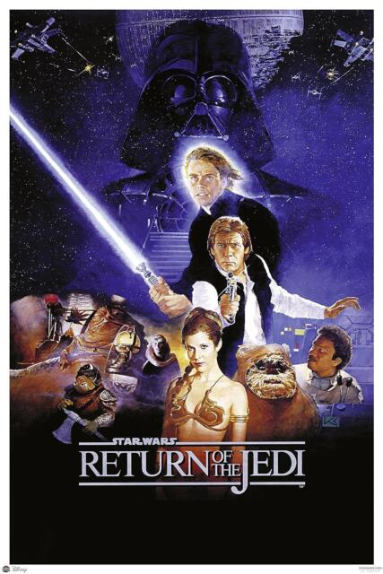 Star Wars Poster Return Of The Jedi Style B 61 X 91 5 Cm