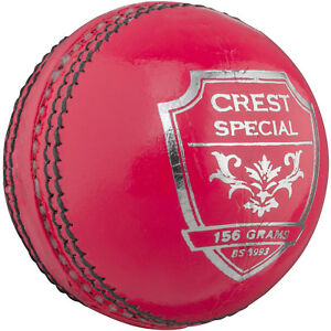 ND Match Quality Pink Cricket ball for 50 overs 5.5oz 5oz A Grade Cricket Balls