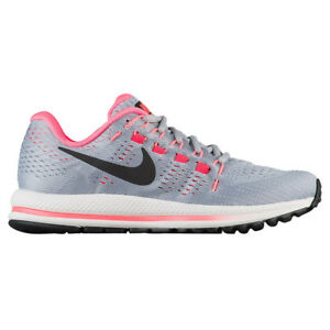 eafd2f2d5cd5 Nike Air Zoom Vomero 12 Womens 863766-002 Grey Hot Pink Running ...