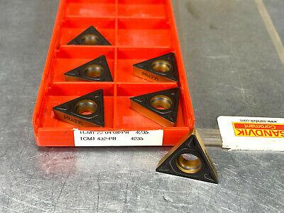 50pcs TCMT16T308-PM Grade 4225 TCMT3 2.5 2-PM sandvik cnc Carbide insert