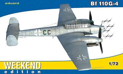 Eduard Weekend Edition 1:72 Messerschmitt Bf 110G-4 Aircraft Model Kit
