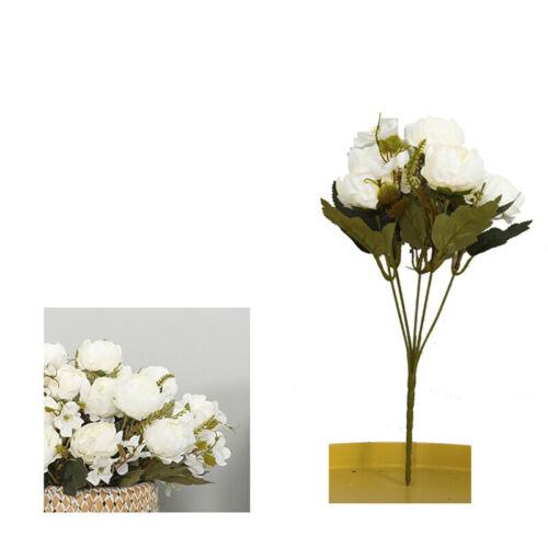Deko Künstliche Blumen Strauß Kunstblumen Seidenblumen Strau Hochzeit Garten