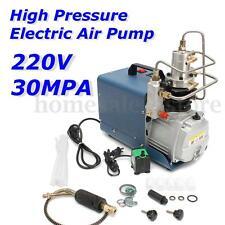 220V 30MPa 4500PSI Air Compressor Pump PCP Electric High Pressure System Rifle