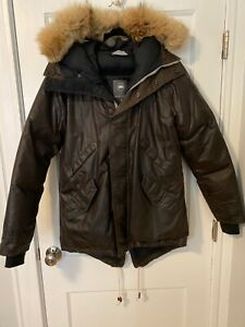 Canada-Goose-x-Wings-And-Horns-Decade-Parka-Waxed-Cotton-M-Original-Tags-ovo