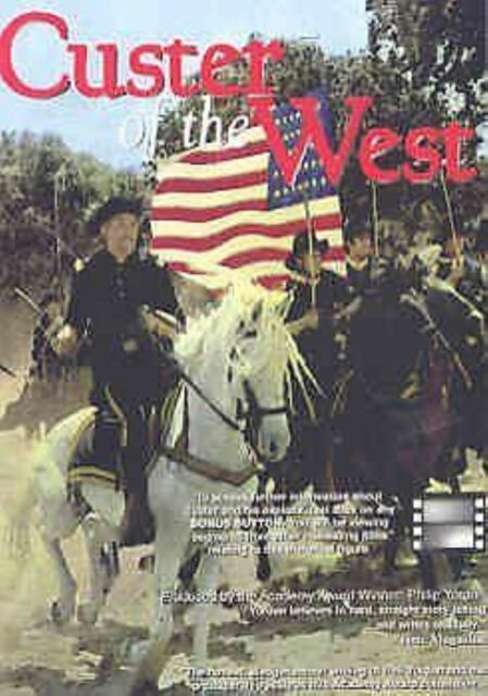 Custer of the West - Robert Shaw,Mary Ure,Ty Hardin New Sealed UK Region 2 DVD
