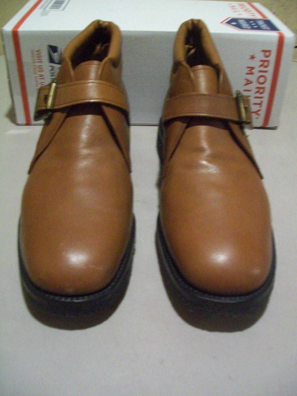 Nuevo 1st Calidad Allen Edmonds Rainier bota 13 D Suela De Crepé marrón con