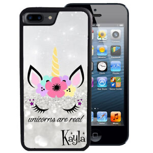 Personalized-Case-Fits-iPhone-XR-XS-MAX-X-8-7-6s-Plus-Models-Unicorn-Sparkle
