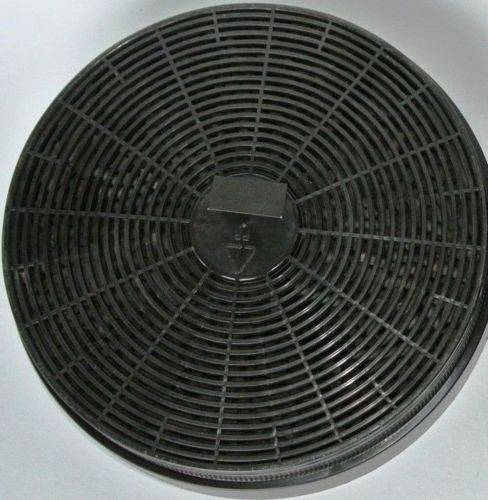 Umluftset cappa Testa libero CAPPA carbone attivo filtro 60cm NERO OBLIQUO