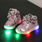 LED SHOES KIDS hello kitty stras high quality