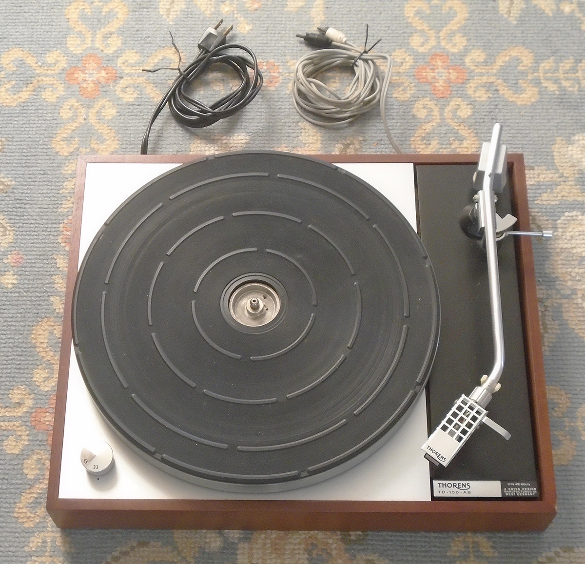 Thorens TD - 150 - AB Turntable, Tonearm, Cartridge, Stylus. Buy it now for 595.00