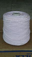 fil à tricoter ruban fantaisie 2mm Rose Clair 850 grammes