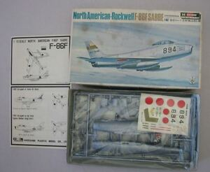 Hasegawa-North-American-Rockwell-F-86F-Plastik-Modell-Bausatz-1-72-Japan-OVP