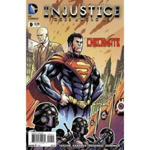 Injustice: Gods Among Us #9 in Near Mint condition. [*ve]